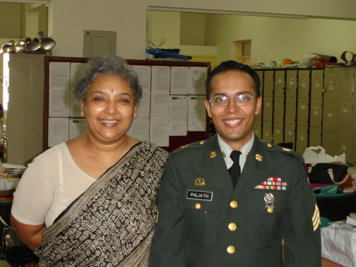 Mrs. Ghosh and I