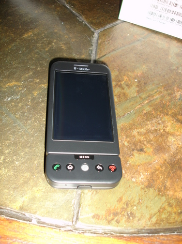 The T-Mobile Android G1