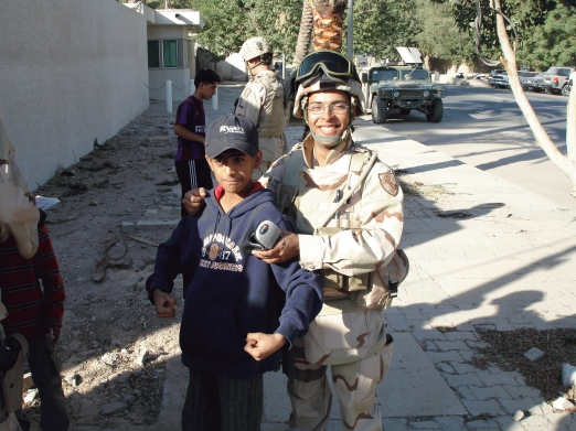 An Iraqi kid and I