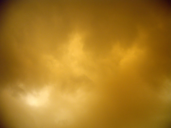 Sky during a sandstorm