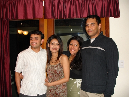 Dipu Cheta, Simi Chechi, Keerthi, and Mannu