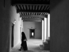 Woman in Corridor
