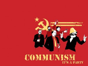 Communism: It's a party!