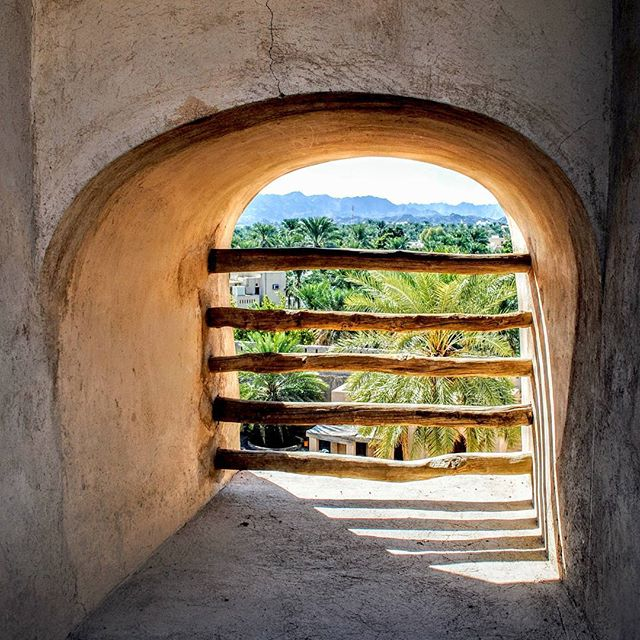 Nizwa, seen from an old window in the Nizwa Fort.  #nizwa #nizwafort #oman #muscat #sultanateofoman #travel #travelphotography #amateurphotography #amateurphotographer #photography #photographer