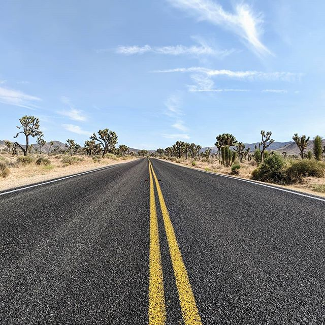 Joshua Tree National Park.  #road #landscapes #landscapephotography #joshuatreenationalpark #amateurphotographer #amateurphotography #pixel2xlphotography #photography #photographer