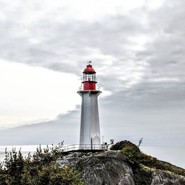 Point Atkinson Lighthouse.  #lighthouse #pointatkinsonlighthouse #pointatkinson #amateurphotographer #amateurphotography #cellphonephotography #mobilephotography #photographer #photography #pixel2xlphotography #canada #vancouver #britishcolumbia