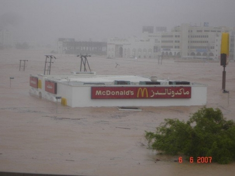 McDonalds Submerged