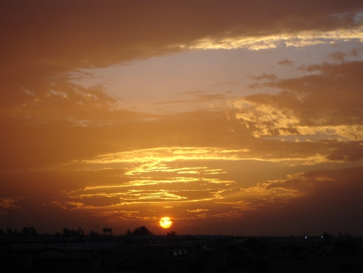 Iraqi Sunset