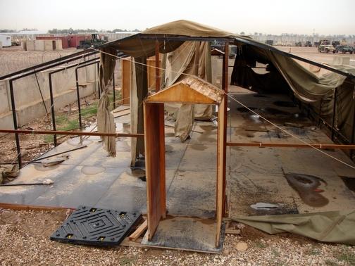 Tent, Post Storm