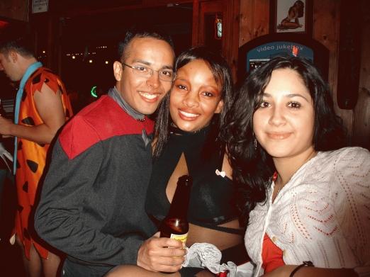 Sakeena, Johanna and I