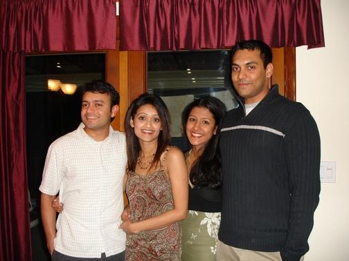 Dipu Cheta, Simi Chechi, Keerthi, and Mannu