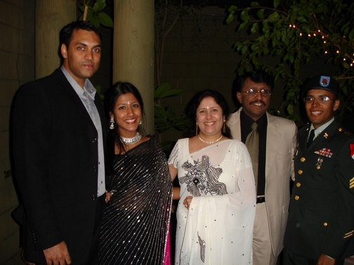 Mannu, Keerthi, Amma, Acha, and I