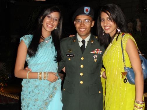 Priya, Maya, and I