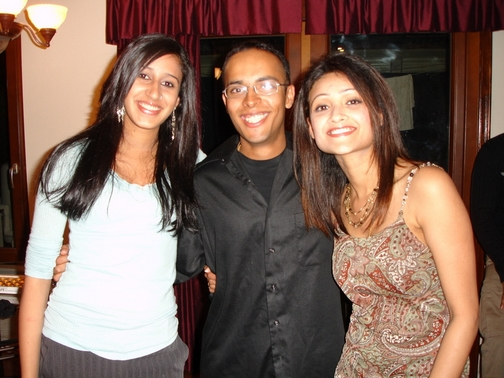 Priya, Simi Chechi, and I