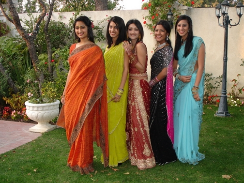 Shipra, Maya, Simi Chechi, Keerthi, and Priya
